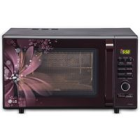 LG 28 Liter Convection Microwave Oven front view