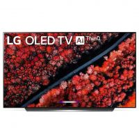 LG C9 65 Inch 4K Smart OLED TV front view